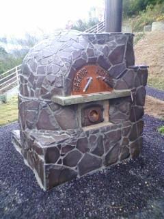 石窯完成。